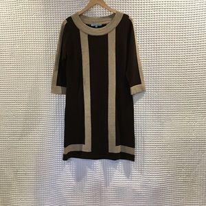 Antonio melanin wool sweater dress